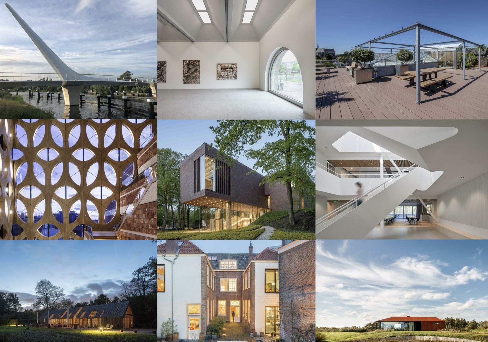 Shortlist Rijnlandse Architectuur Prijs 2019 bekend