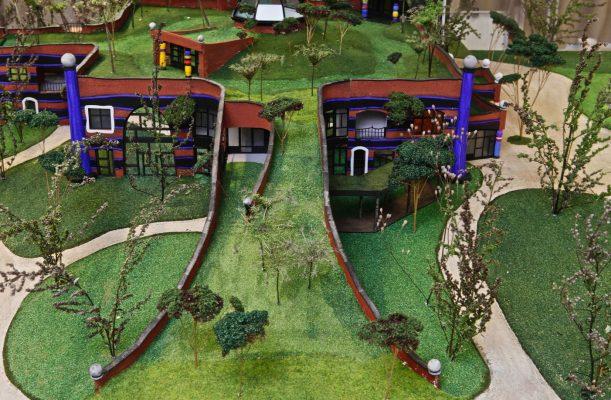 Hundertwasser maquette Gemiva Swetterhage
