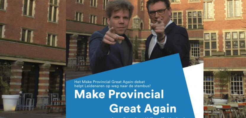 Make Provincial Great Again